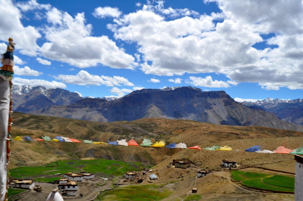 Village Spiti Valley.