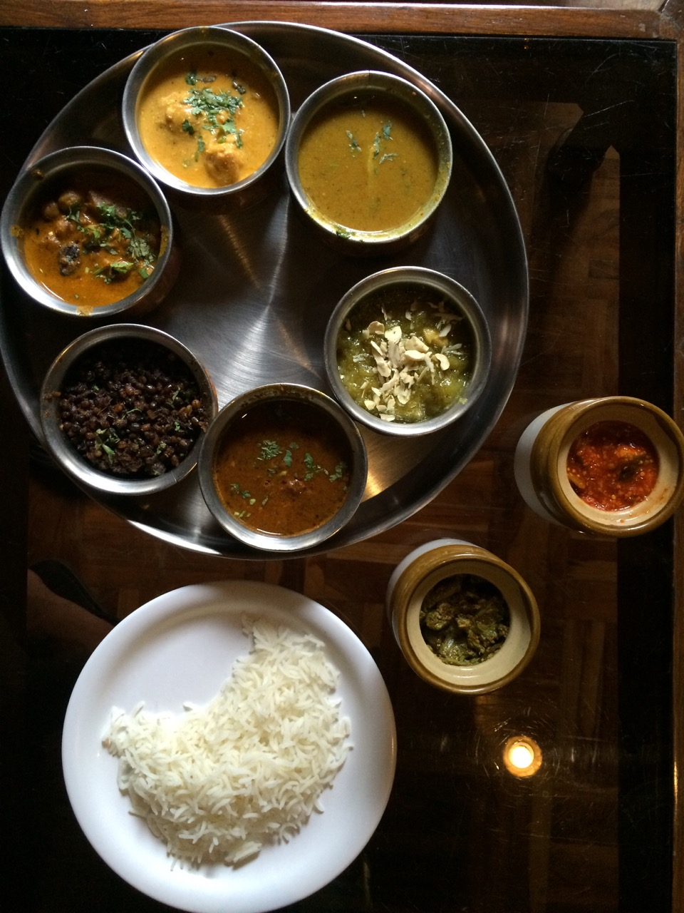 Traditional Himachali Thali - Dhaam.