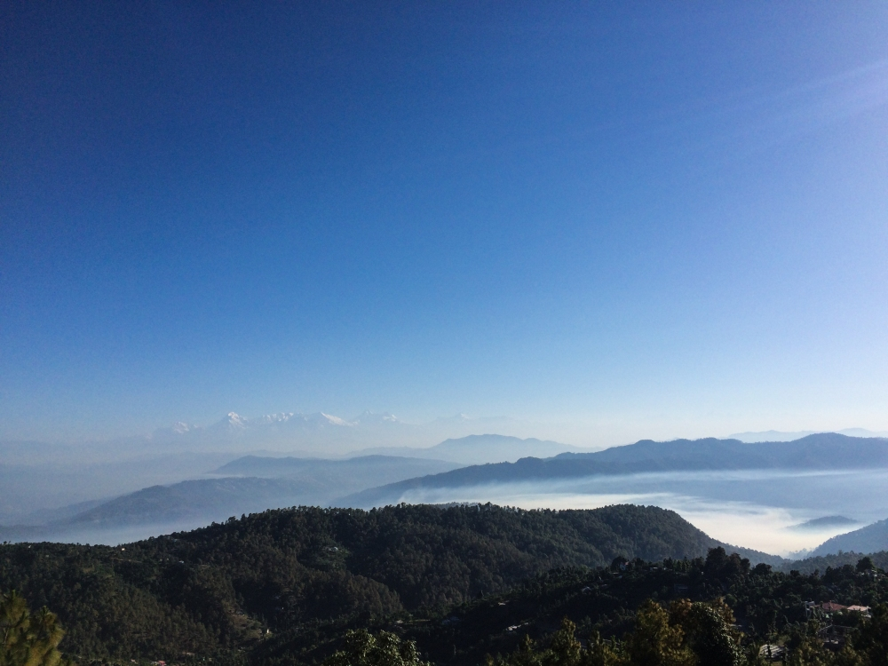 Mesmerising morning views from Mukteshwar