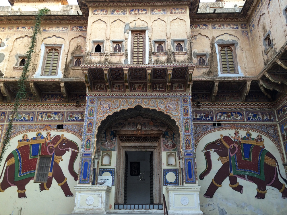 The Chokhani Double Haveli in Mandawa
