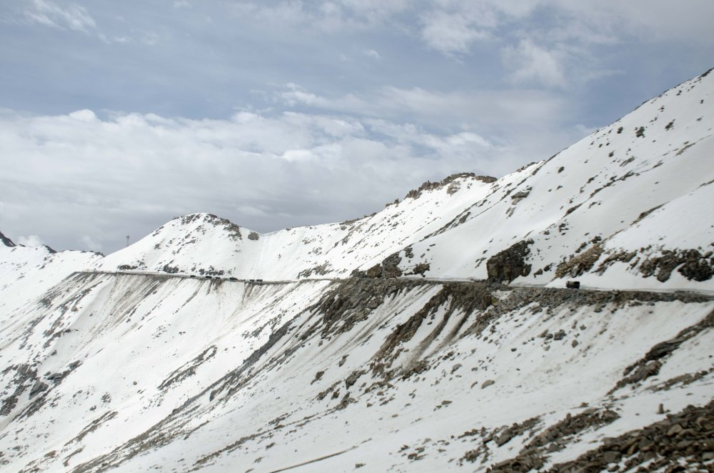 Khardung La Snow in J