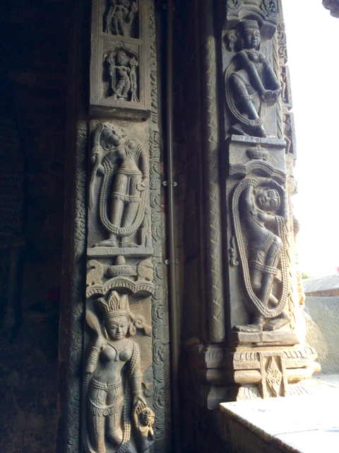 Baijnath Temple carving