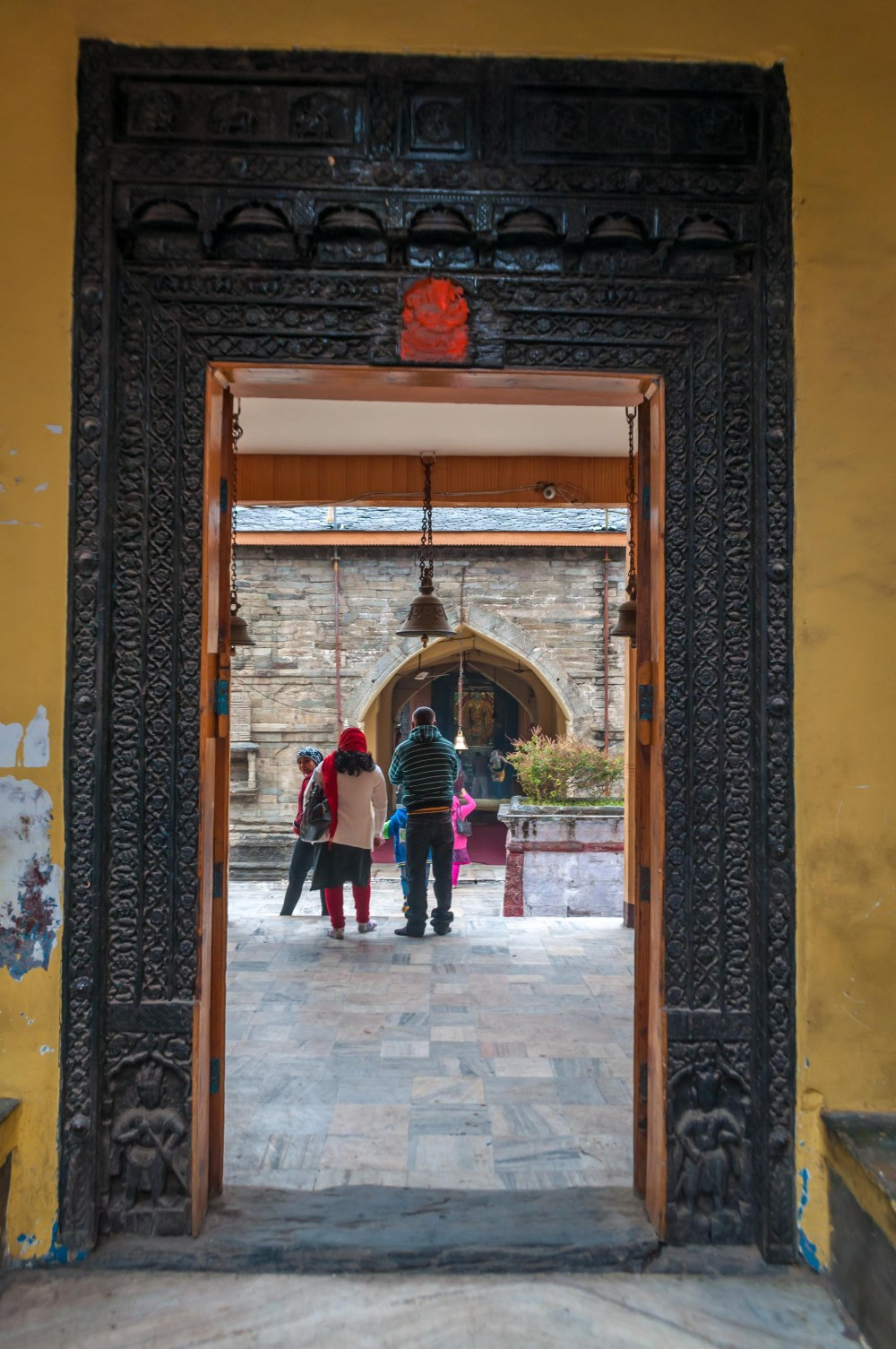 Entrance Lakshmi Narayan Temple
