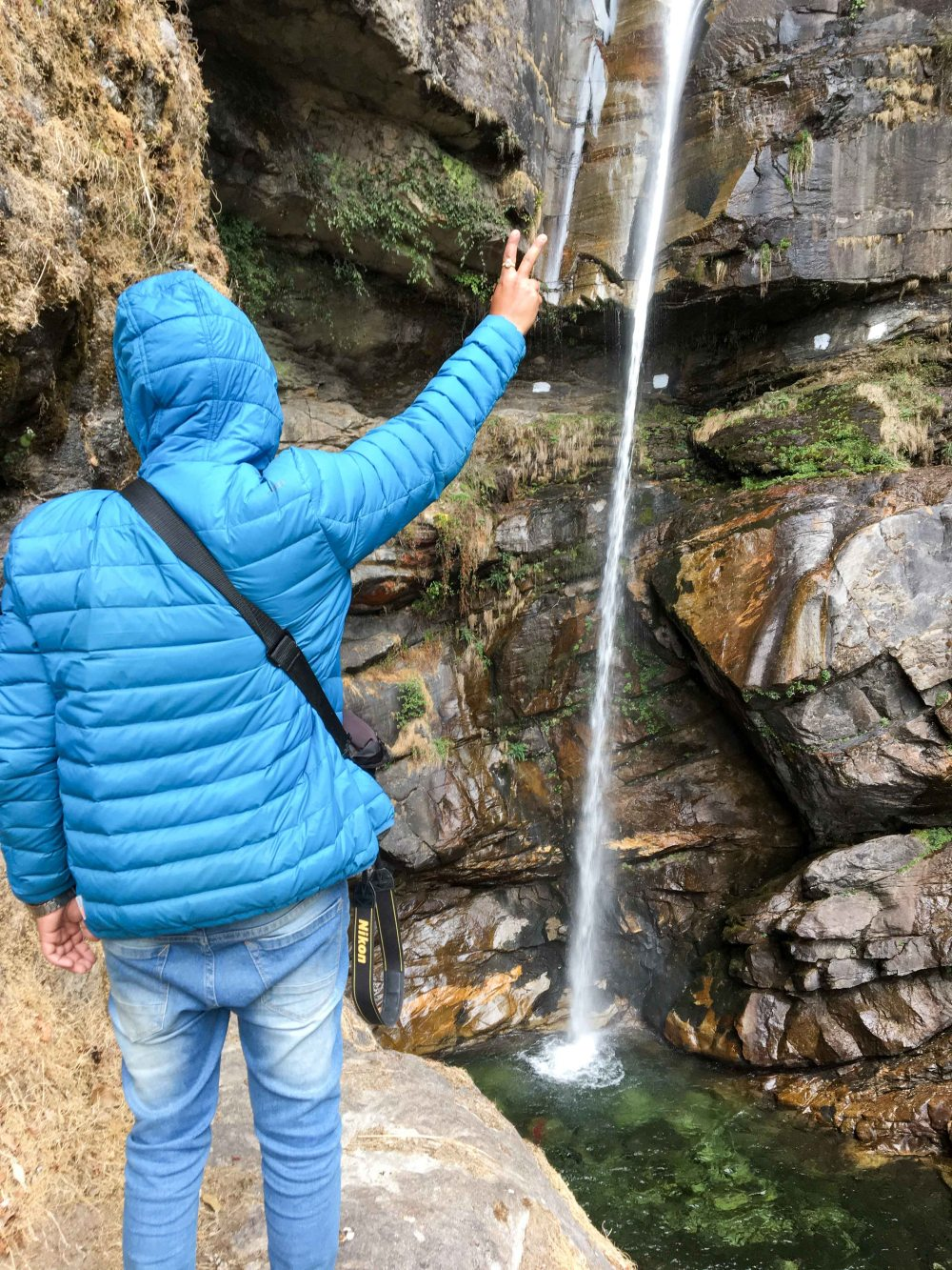Atri Muni Cave Waterfall
