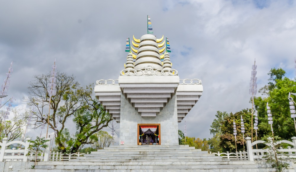 Ibudhou Pakhangba Temple in Kangla Fort