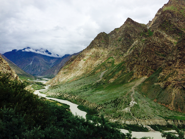Bhaga river Gemur Monastery
